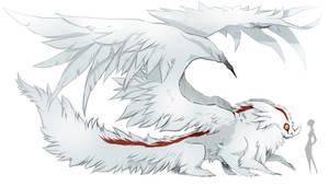 Zertillion fauna: Heat haze Narrow-wing by greyanimebeast