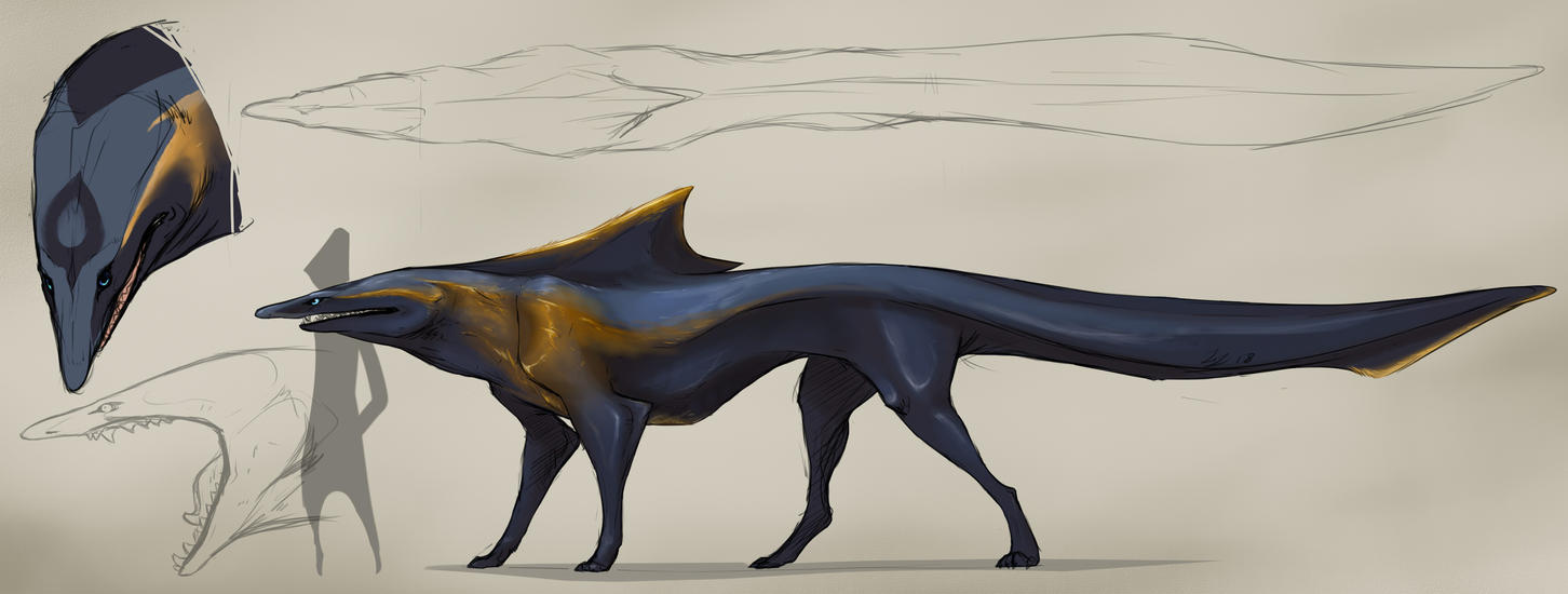 -Ended-Auction: Golden Blue by greyanimebeast