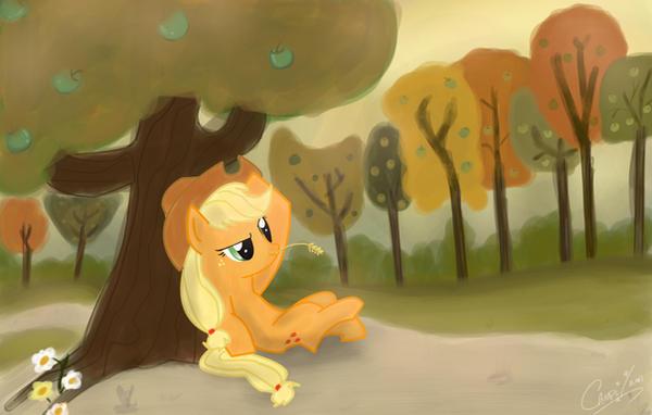 Fall is a comin' - Applejack