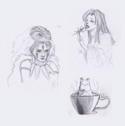 Miyazaki Sketches