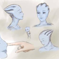 Liara Sketches