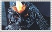 SpaceGodzilla Stamp by Miss-DNL