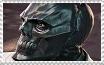 Arkham Black Mask Stamp by Miss-DNL