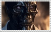 Arkham Black Mask: Fire Stamp by Miss-DNL