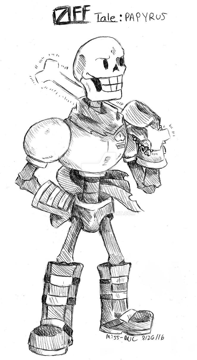 offtale  papyrus by miss