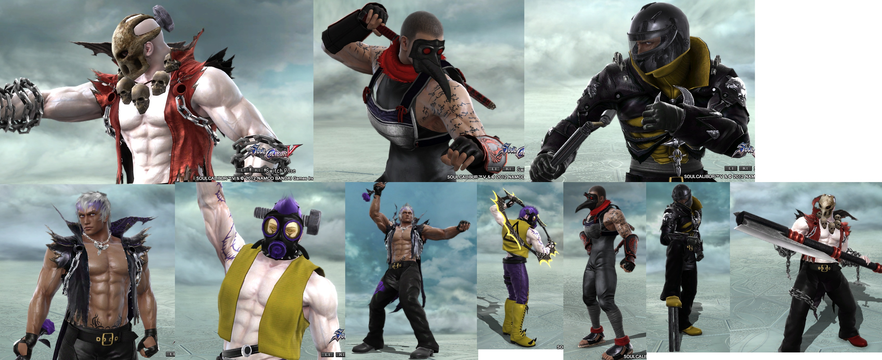 soul calibur v characters by 6dia6lo6 on DeviantArt