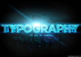 Typography 5. by TJay-Design