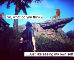 Like Seeing My Own Self