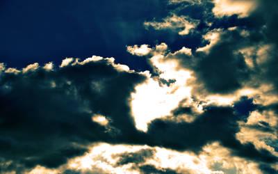 Strange clouds by paran0idx