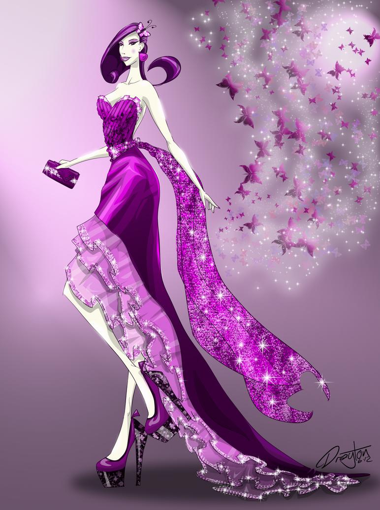 Purpillon by SketchDrayton