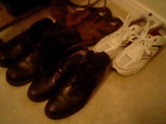 Shoes Make the Man by eshonen
