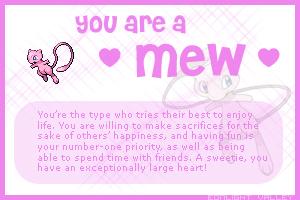 I am a Mew by eshonen