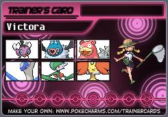 Victora's Mono-Psychic Team by eshonen