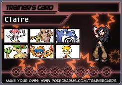 Claire's Mono-Fighting Team by eshonen