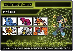 e-kun's Mono-Bug Team by eshonen