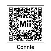 Connie Mii QR Code by eshonen