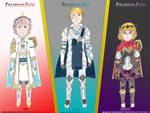 Fates Mains in Hybrid Armor