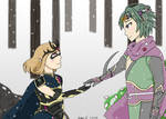 FE Fates Conquest!Hades/Persephone (MU/Kaze) AU