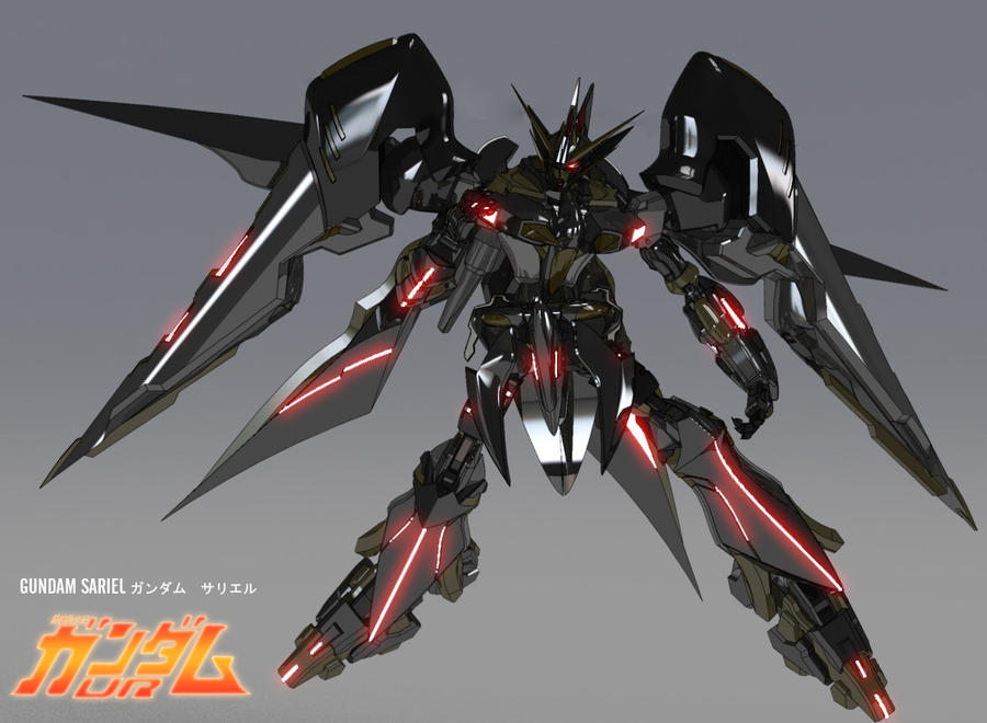 Gundam Sariel P1 by masarebelth