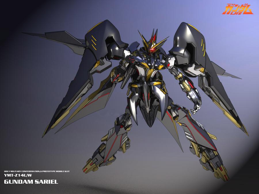 Gundam Sariel P2 by masarebelth