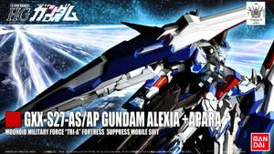 HG REVAMP 2OF6 GUNDAM ALEXIA+APARA