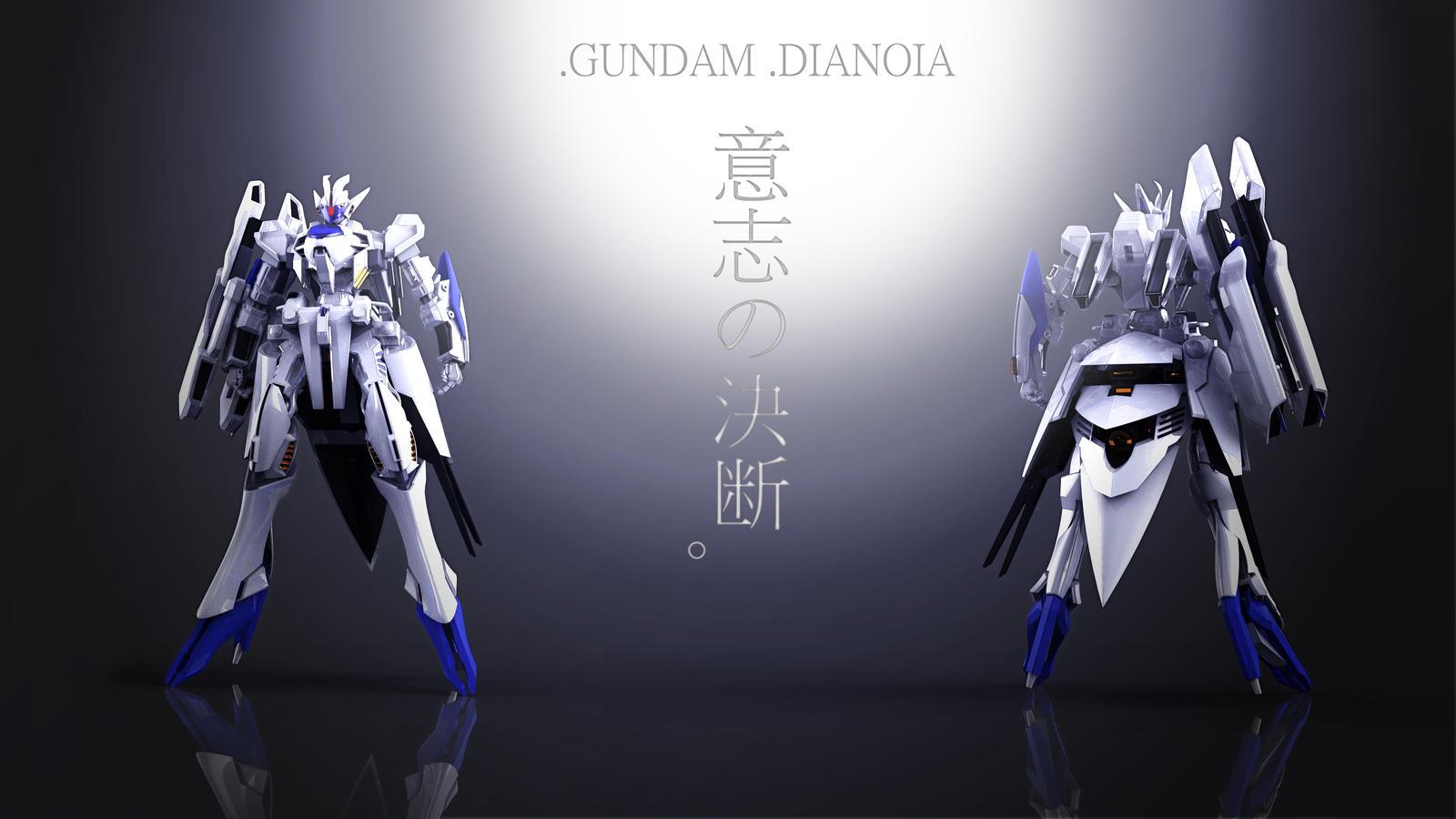 Gundam Dianoia by masarebelth