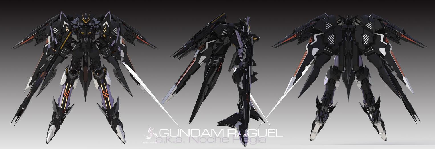 Gundam Raguel by masarebelth