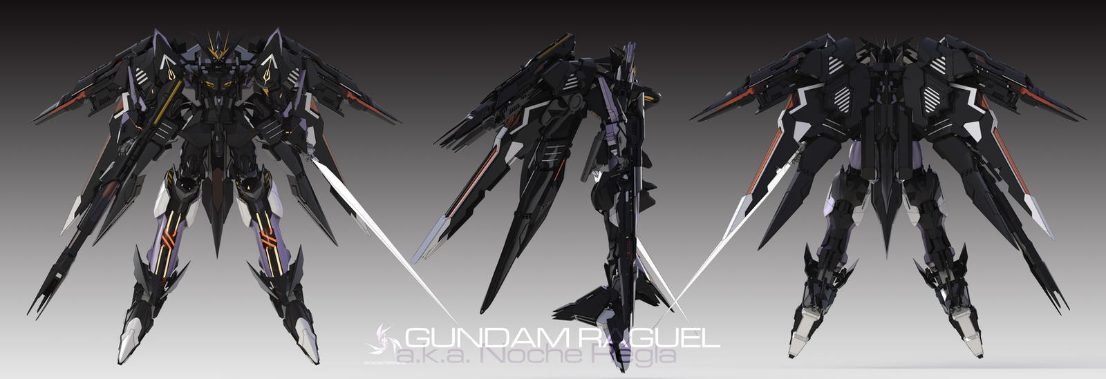 Gundam Raguel by masarebelth