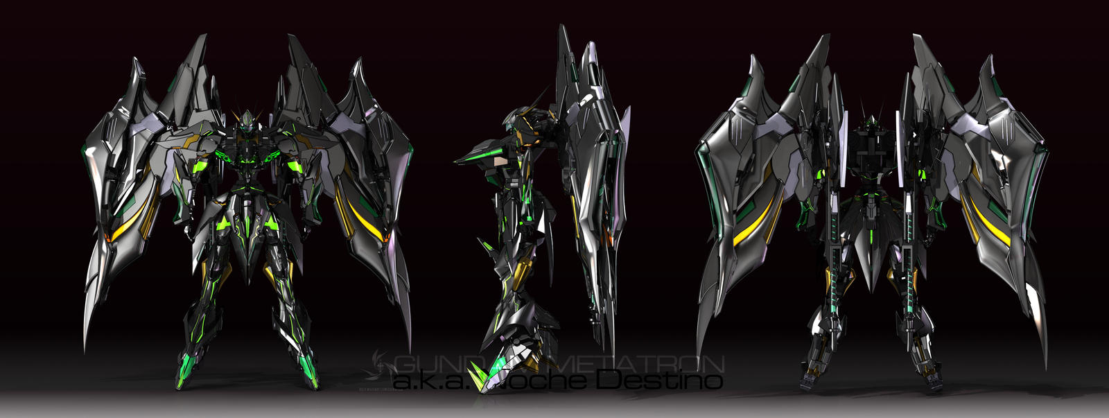 Gundam Metatron by masarebelth