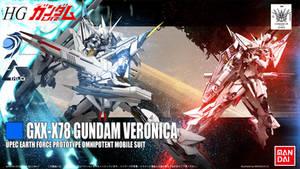 HG Gundam Veronica by masarebelth