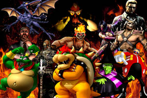 My favorite game villains by KingKoopz123