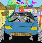 Growing Around Poster Reduex