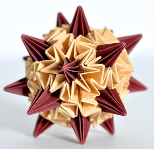 Origami Sea Urchin by SatKyoyama