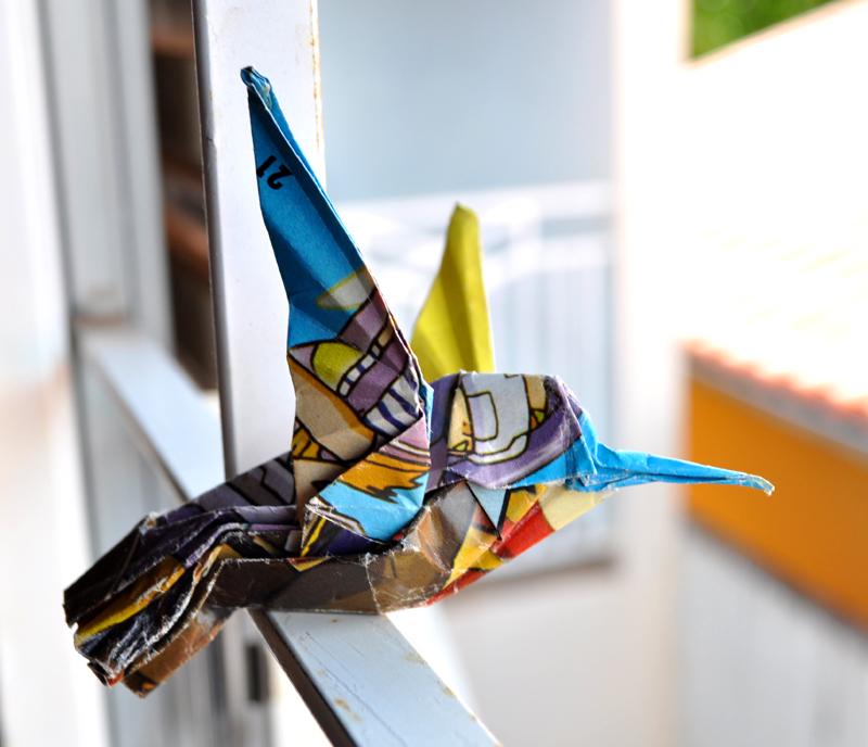 Origami Ruby throated Hummingbird by SatKyoyama on DeviantArt - photo#34
