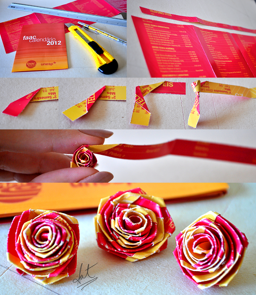 Quilling rose by satkyoyama on deviantart for Quilling how to