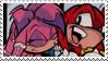 Knuckles x Julie-Su Stamp by neoncat