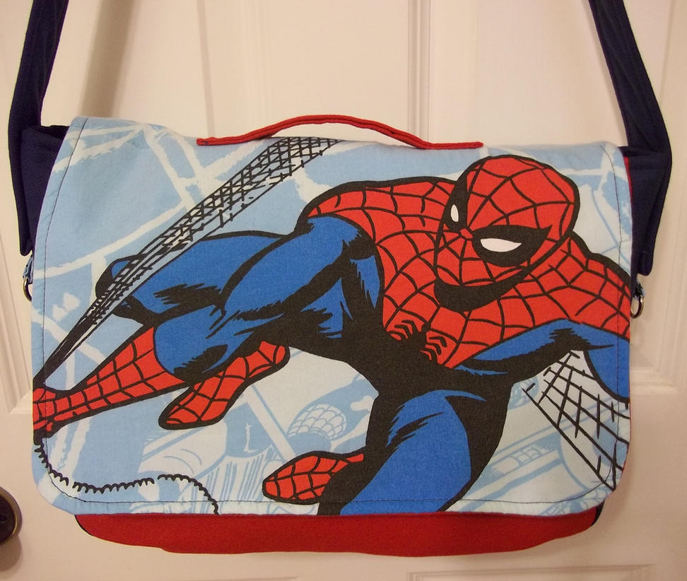 Had to Make A Spidey Bag . . . by elecktrum