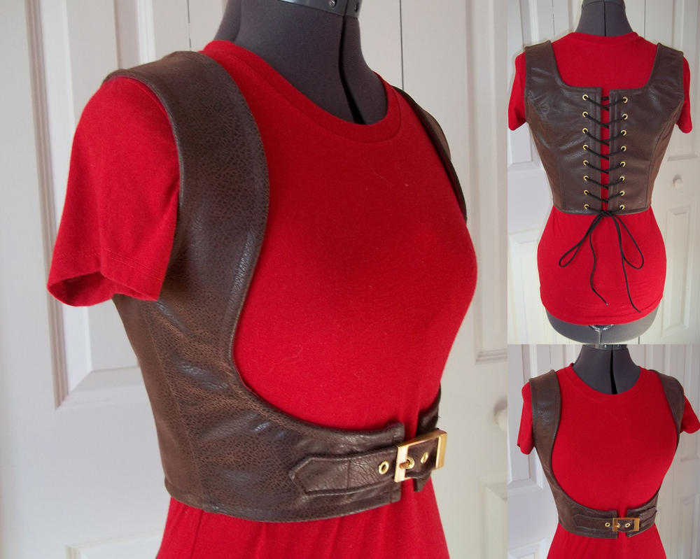 Corseted Harness by elecktrum