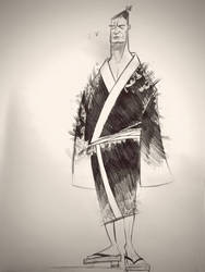 Samurai dude. by Digit-XII