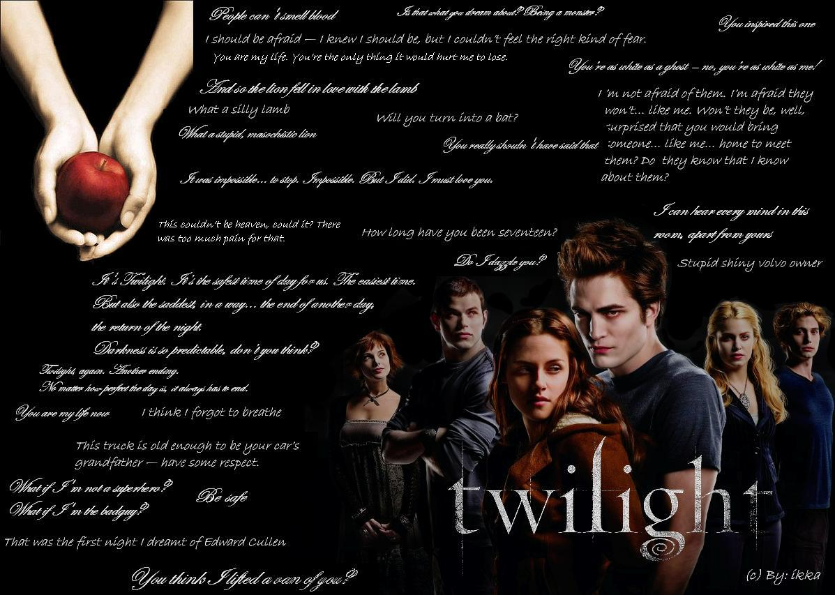Twilight Quotes Wallpaper by Eriichan on DeviantArt
