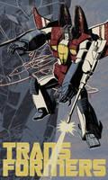 Transformers-Starscream by liliesformary