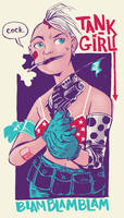 Tank Girl by liliesformary