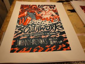 Southwork Screen Print