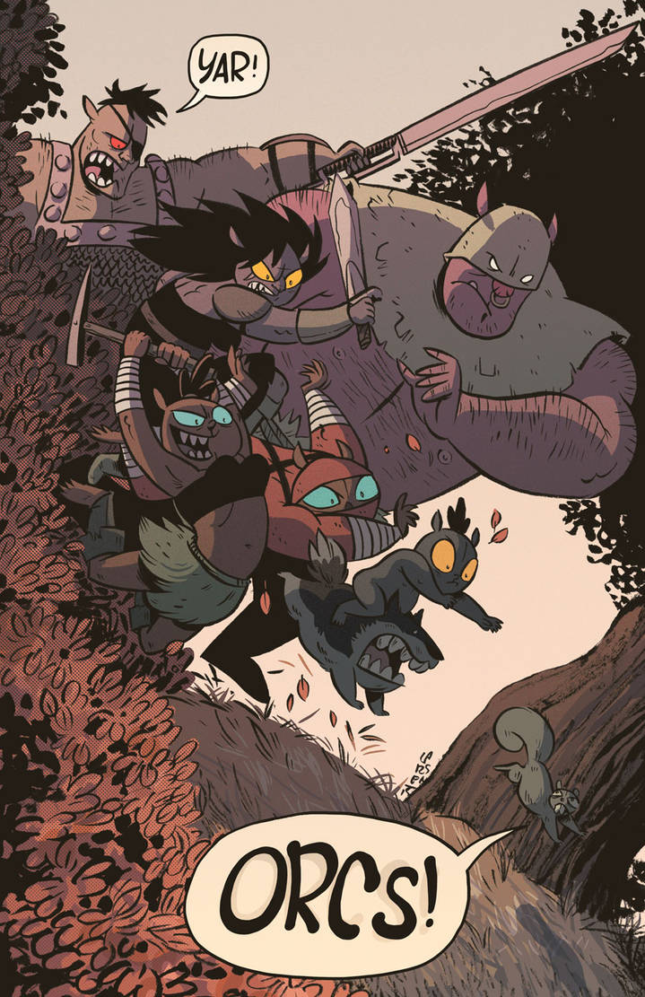 ORCS! Cover, Front