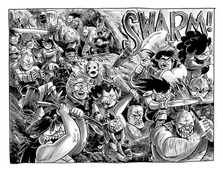 ORCS! Bird Brained Pages 09-10