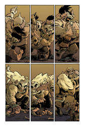 ORCS! Issue 3 Troll Fight!