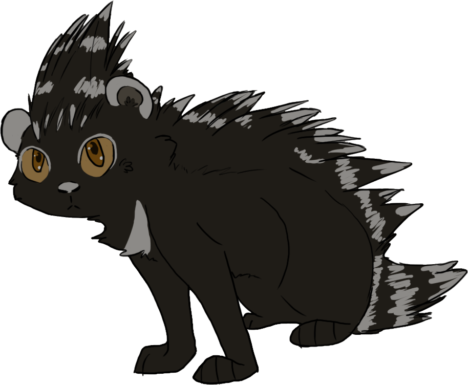 how to draw a real porcupine