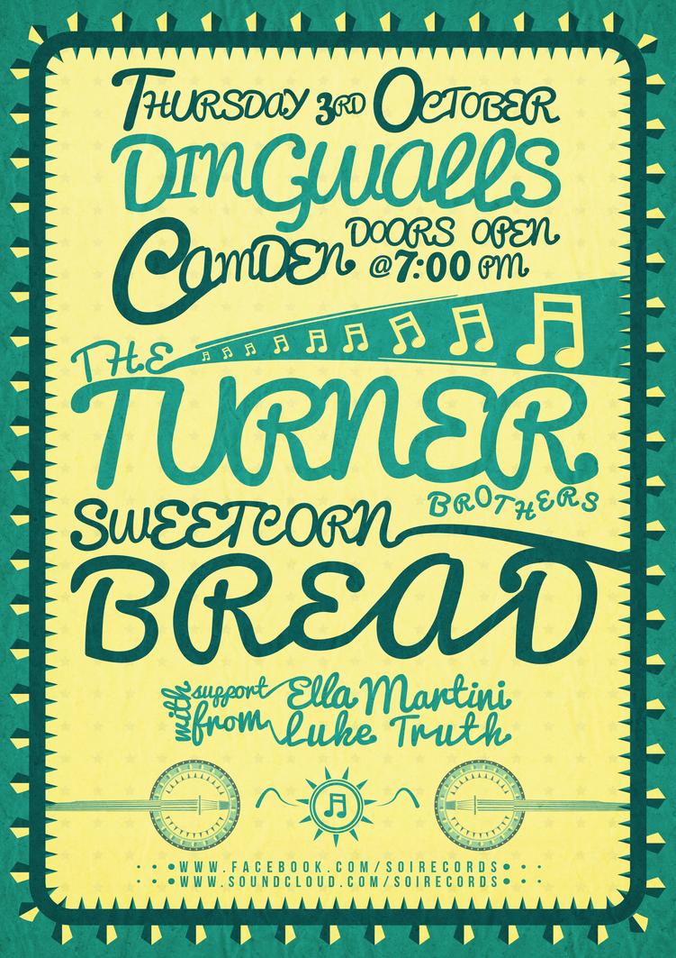 Dingwalls, Camden Gig Poster (Version 2) by RicGrayDesign