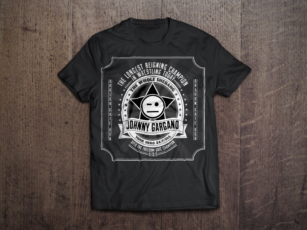 Johnny Gargano DGUSA T-Shirt By RicGrayDesign On DeviantArt