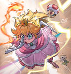 Peach going through hell and back